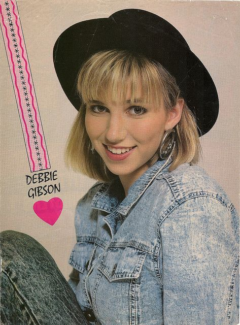 Official deborah gibson website for Acid song 80s